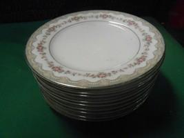 "Outstanding Collectible Noritake China Glenwood ...9 BREAD-SALAD-Plates 6.25"" - $54.04"