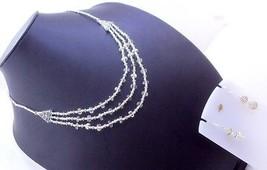 Cream Jade Stone  Beaded Necklace Jewelry - $9.89