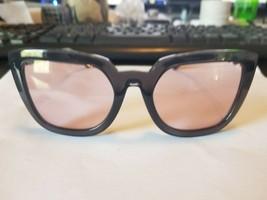 Brand New Sunglasses HC8256U Color 55370E Transparent Grey Size 55 - $58.41