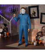 Life Size Animated Michael Myers Halloween II Prop Horror Movie Decor  - £228.98 GBP