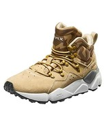 RAX Men's Lightweight Leather Hiking Boots Warm Outdoor Walking ShoeKhak... - $63.08