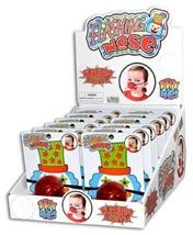 Red Flashing Clown Nose - One Item image 1