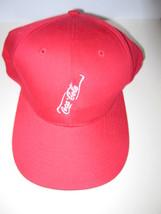 Coca-Cola Bottle Logo 100% Cotton Baseball Cap Hat- NEW - $9.90