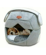 Foldable Soft Warm Space Helmet Pet Cat Bed For Dogs Cave Sleeping Mat Pad - $32.25+