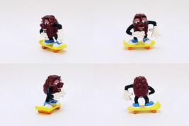 ORIGINAL Vintage 1988 Applause California Raisins Skateboarder Figure - $14.84
