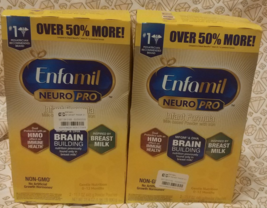 Enfamil NeuroPro Infant Formula-Powder Refill Box, 31.4 oz *Lot of 2* Ex... - $69.99