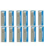 12 x Parker Quink Flow Ball Point Pen Refills BallPen Blue Medium New Se... - $17.30