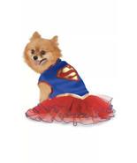 Rubie's Costume Company DC Comics Super Girl Pet Tutu Dress Medium - £5.37 GBP