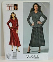 Vogue Sewing Pattern V2911 Misses Blouse and Skirt Sizes 32-55 Bust - $10.93