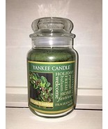 Yankee Candle Large Jar Candle, White Pine & Mistletoe - $59.99