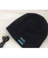 Bluetooth Beanie, Bluetooth Hat, Unisex Music Hat with Rechargeable Batt... - $11.63