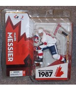 2005 McFarlane NHL Mark Messier 1987 Team Canada Olympics Figure New In ... - $44.99