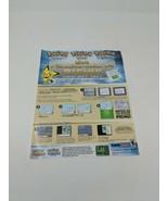 Pokemon Nintendo Event Heartgold Soulsilver Pikachu Colored Pichu DS Pro... - $48.51