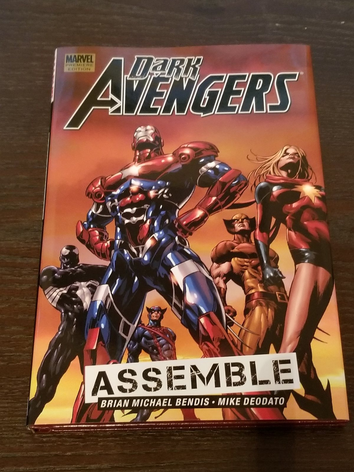 Dark Avengers: Assemble Volume 1 Hardcover Graphic Novel