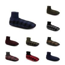 Mens Sock Top Slipper Socks Various Colors S-XL George NEW - $8.98
