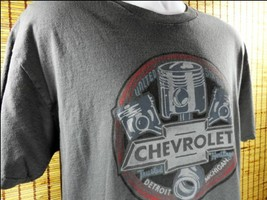 Chevrolet Chevy T Shirt Detroit Michigan US Trusted Heritage Cars Auto G... - $14.20