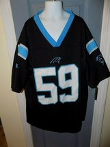 Luke Kuechly Carolina Panthers NFL #59 Team Apparel Jersey Size L Youth EUC - $40.05