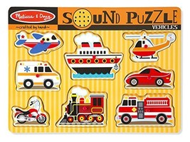 Melissa & Doug Vehicles Sound Puzzle - $12.99