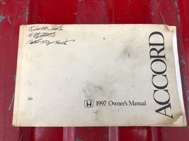 1997 Honda Accord Owners Manual - $10.60
