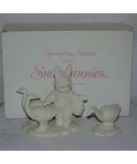 """Snowbunnies Department 56 Springtime Stories """"Goosey Goosey Gander"""" Orig... - $19.99"""