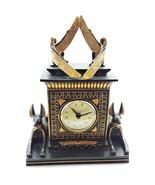 Temple of Anubis Egptian Desk Clock - $49.99