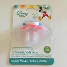 NEW Disney Mickey Mouse Baby BPA Free Pacifier - $3.95
