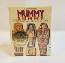GAMEWRIGHT MUMMY RUMMY Dig & Sift Card For Egyptian Treasures Game NEW S... - $24.75