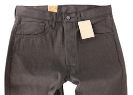 NEW LEVI'S 501 MEN'S SHRINK TO FIT STRAIGHT LEG JEANS BUTTON FLY BROWN 501-1894 image 4