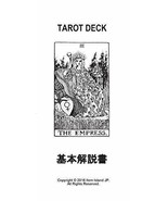78 sheets tarot card rider Fortune telling Mystic Faerie from Japan - $95.61