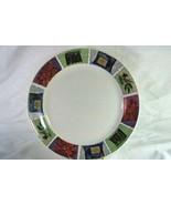 Thomson Pottery Christmas Foliage Dinner Plate - $6.92
