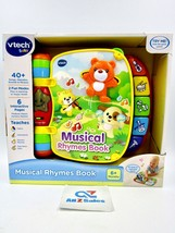 VTech Baby Musical Rhymes Book 6+ Months Learning Interactive Colors Mus... - $19.75