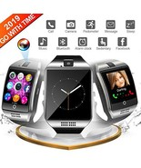 Smart Watch,Smart Watches,Smartwatch for Android Phones, Waterproof (BLACK) - $40.59