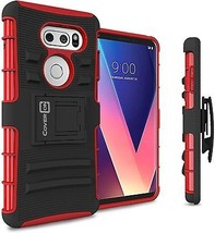 LG V30 Plus Holster Case, LG V30 Holster Case, CoverON Explorer Series ... - $14.56