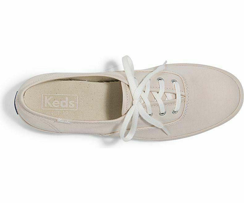 Keds WF59205 Women's Champion Cotton Sateen Petal Pink Shoes, 8 Med