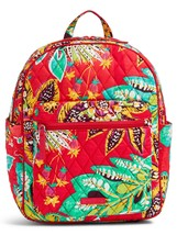 Vera Bradley Quilted Signature Cotton Leighton Backpack, Rumba