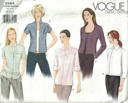 2564 UNCUT Vogue Sewing Pattern Misses Jacket in Four Lengths Basic Desi... - $9.99