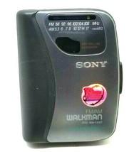 Sony Walkman FM AM Cassette Auto Reverse WM-FX321 Tested (K14) - $33.85