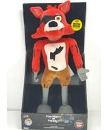 "Five Nights at Freddys Animatronic 16"" Plush Foxy Jump Scare Exclusive F... - $39.59"
