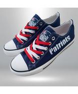 patriots shoes women sneakers mens fashion patriots tennis shoe custom f... - $55.00+