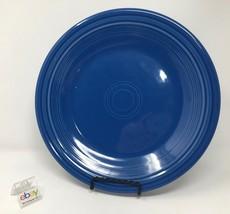 "Fiesta Lapis Blue Dinner Plate 10 1/2"" Diameter - Nice! - $9.99"