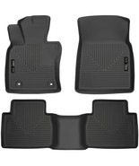 Husky Liners Weatherbeater Front and Rear Floor Mats BLACK for 2018 Toyo... - $164.95