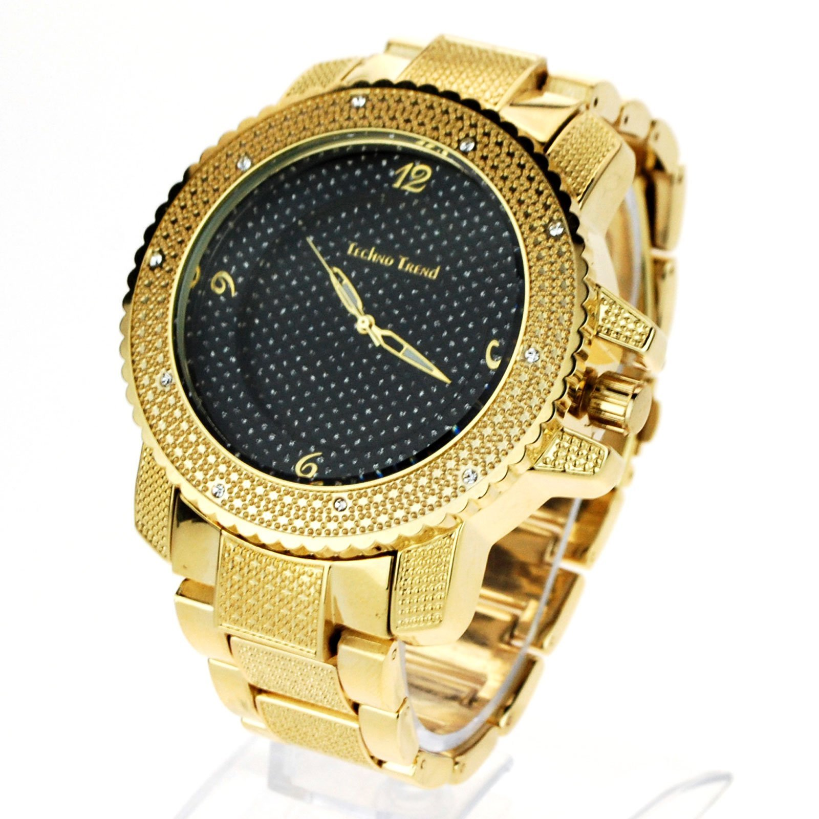 c65e568578f1 Techno Mens Hip Hop Iced Out Luxury Baller and 50 similar items