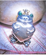 Haunted FREE MYSTICAL LOVE FROG PRINCE BEAD  MAGICK 925  STERLING WITCH Cassia4 - Freebie