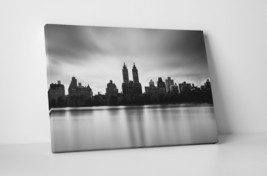 "New York Gotham City Skyline Gallery Wrapped Canvas Print 30""x20"" or 20""... - $44.50+"
