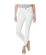 Buffalo David Bitton Women's Stretch Soft Capri Pants White  Sz 4/27 - $17.79