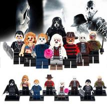 8Pcs/Set Horror Theme Jason Scream Killer Freddy Krueger Lego Minifigure... - $9.99