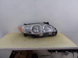 2011 2012 2013 Toyota Corolla Rh Passenger Headlight Wth Chrome Bezel Oem 13 - $97.00