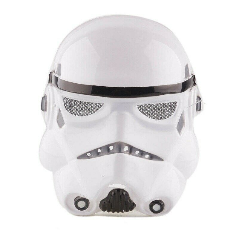 Adult Star Wars Black White Mask Cosplay Costume Stormtrooper Mask Party