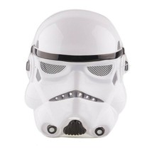 Adult Star Wars Black White Mask Cosplay Costume Stormtrooper Mask Party - £6.56 GBP