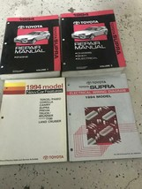 1994 TOYOTA SUPRA Service Repair Shop Workshop Manual Set W EWD OEM + Fe... - $216.41